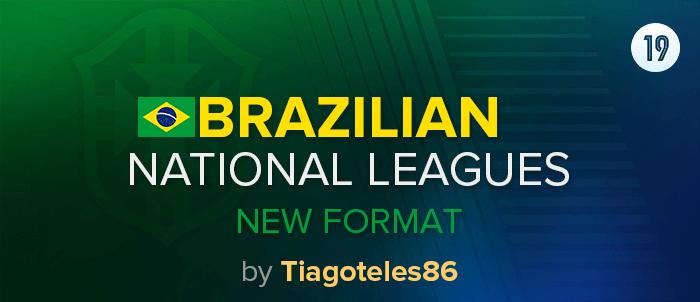 صورة نظام الدوريات البرازيلي الجديد FM2019 |باتش
