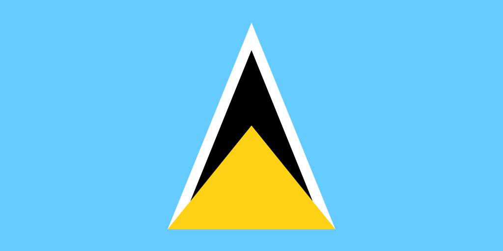 saint-lucia-flag-coloring-free-download